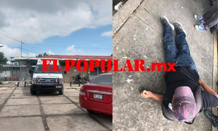 Atacan a balazos a hombre en pleno centro de Atencingo