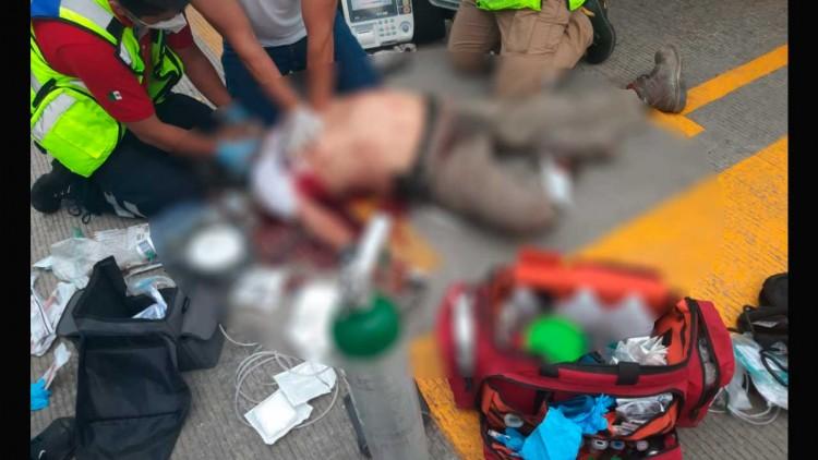 Matan a balazos a hombre de 68 años en Palmar de Bravo