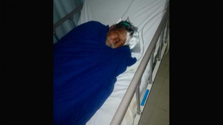 Piden ayuda para encontrar la familia de Nicolás, sufre pérdida de la memoria