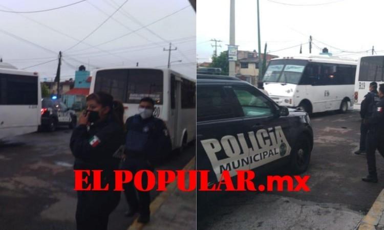 Reportan dos asaltos a usuarios de rutas, autoridades descartaron uno de ellos