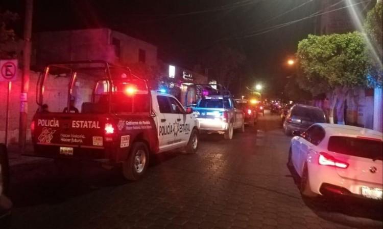 El gobierno estatal mantiene el control de la seguridad en Tlacotepec.