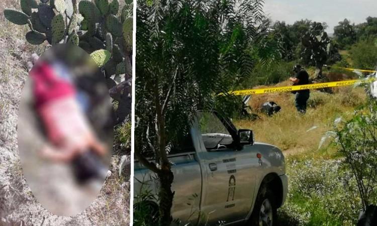 Dejan cadáveres de hombre y mujer en barranca de Tecamachalco