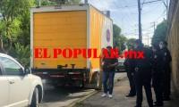 Privan de la libertad a operador en robo de camión, posteriormente ambos fueron localizados