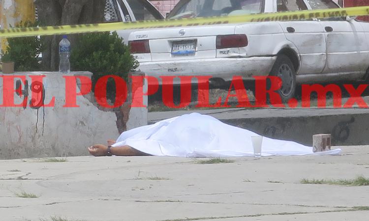 A balazos matan a presunto narcomenudista en U.H. San Jorge