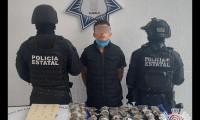 Policía Estatal arresta a presunto asaltante en Izúcar