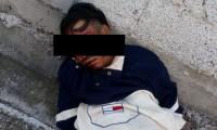 Vecinos detienen a presunto ladrón, le dan golpiza y lo mandan al hospital