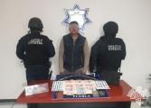 """Detiene Policía Estatal a presunto narcomenudista de """"El Chupón"""""""
