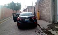 Roban Mazda con lujo de violencia en la Puebla-Tehuacán