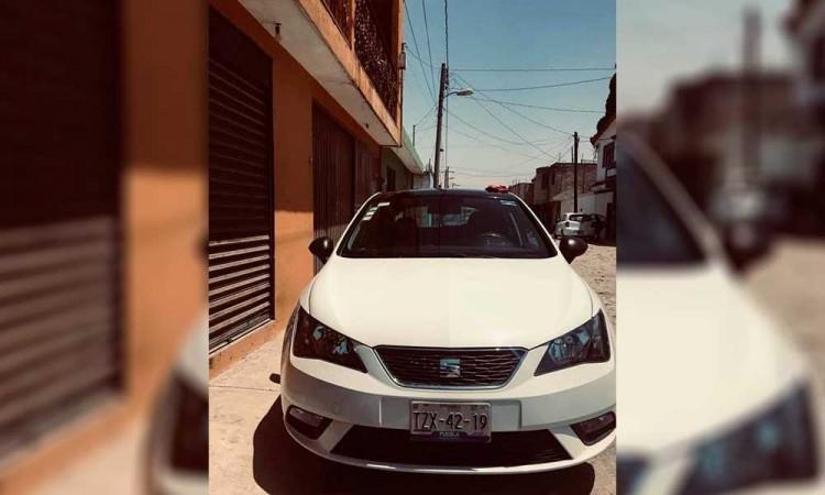 Piden viaje en app para robar vehículo al conductor en Puebla