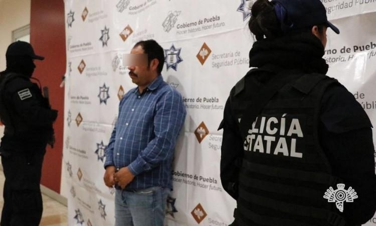 """Detienen a """"El Moco"""", presunto líder huachicolero en el norte de la entidad"""