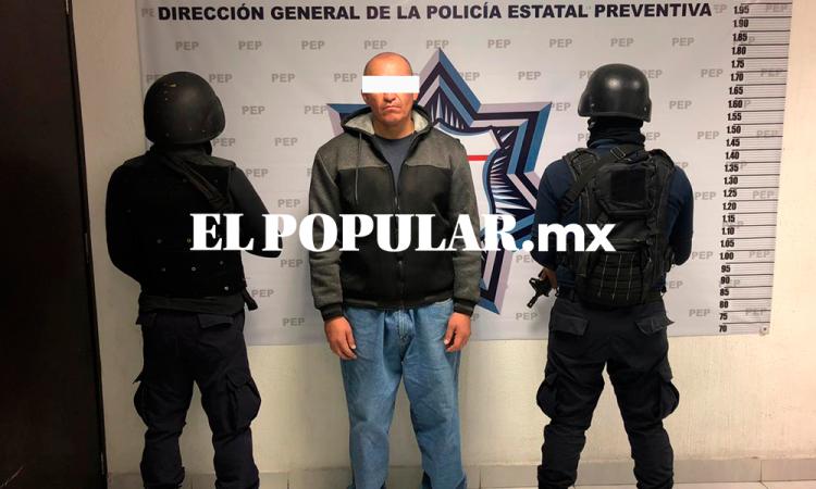 Detienen a Cuit peligroso narcomenudista en Tehuacán