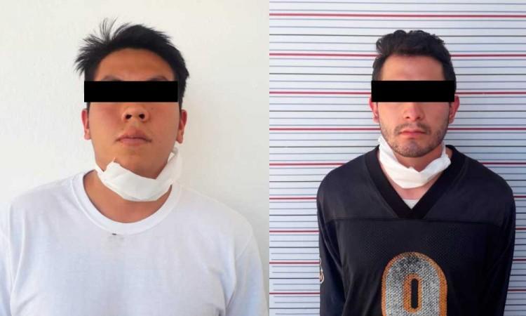 Este par de ladrones fueron detenidos por asaltar la Ruta 14