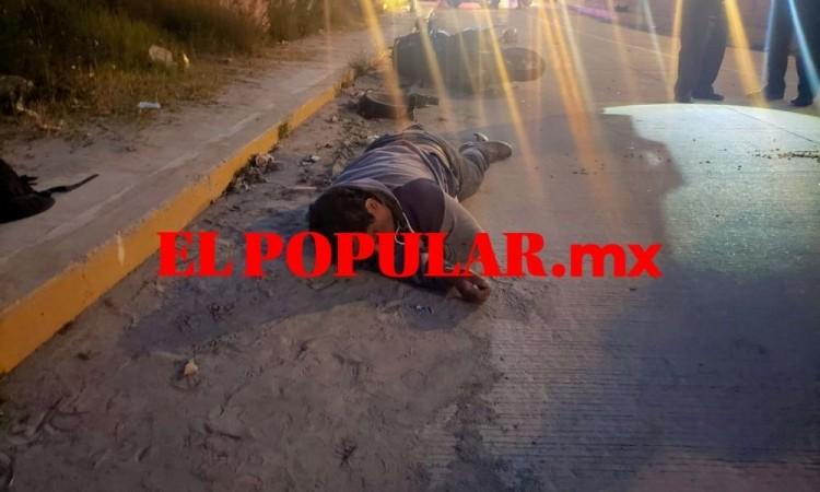 Motociclista muere por choque en la colonia San José Mayorazgo