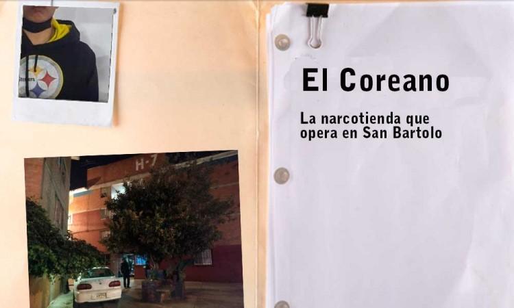 En San Bartolo opera una narcotineda operada por El Coreano