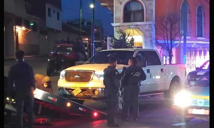 Balacera en Huauchinango deja seis detenidos y un lesionado