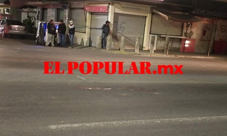 Lesionan de gravedad a hombre tras balacera en el centro de Cuapiaxtla de Madero