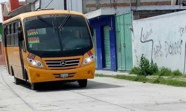 Reportan tres asaltos en rutas en un par de horas en la ciudad de Puebla y la zona metropolitana