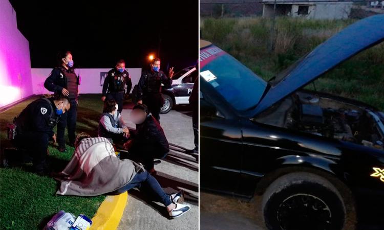 Mala noche para trabajadores del volante; asaltan y roban a tres conductores