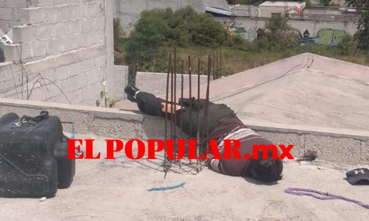 Muere al recibir descarga eléctrica  en San Jerónimo Ocotitlán Acajete