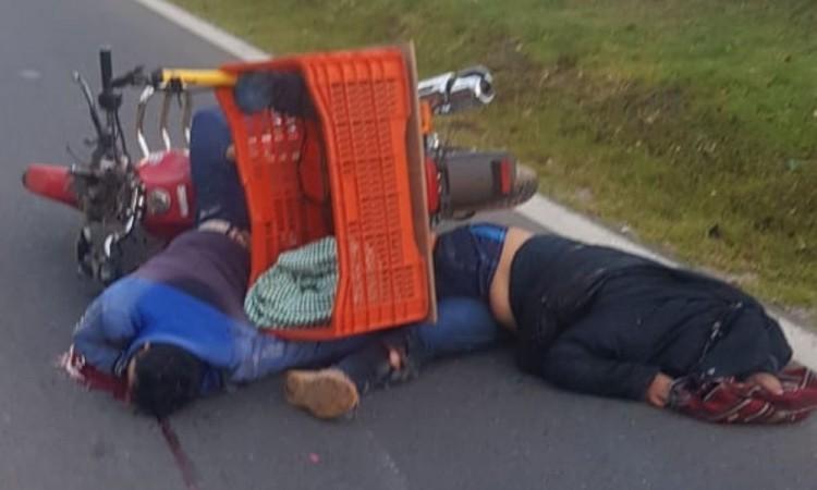 Las víctimas fueron identificadas como Espiridion Olvera y Caridad Ortega.