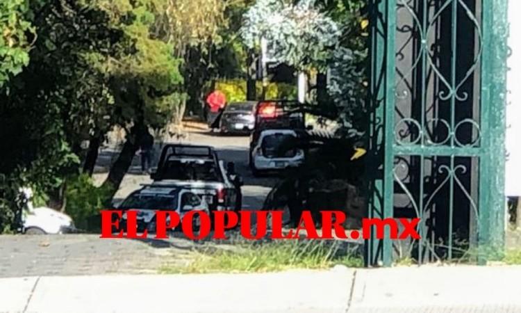 Lesionan a joven en asalto en el fraccionamiento Las Ánimas en la ciudad de Puebla