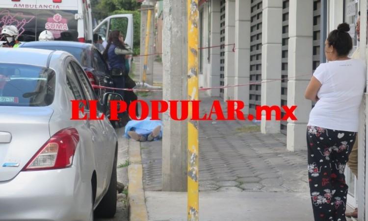 Muere automovilista por un paro cardiaco en la colonia Reforma Sur, en la ciudad de Puebla