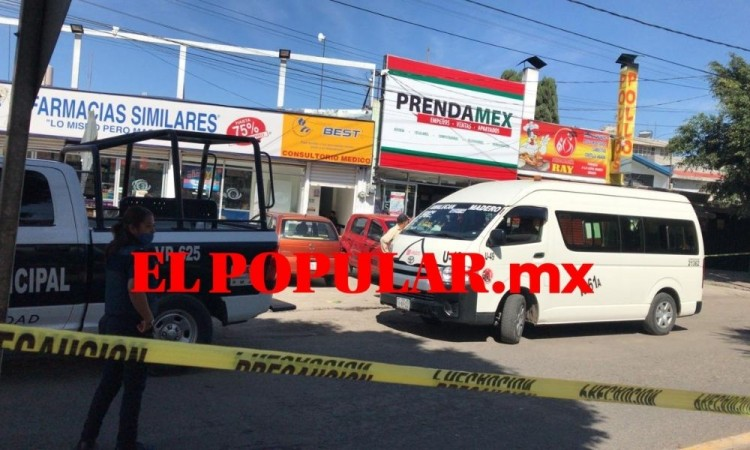 Tras ser asaltada mujer sufre infarto en la  unidad 49 de la ruta 61-A en Puebla