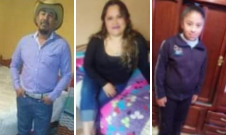 Familia lleva 13 días desaparecida en Cañada Morelos