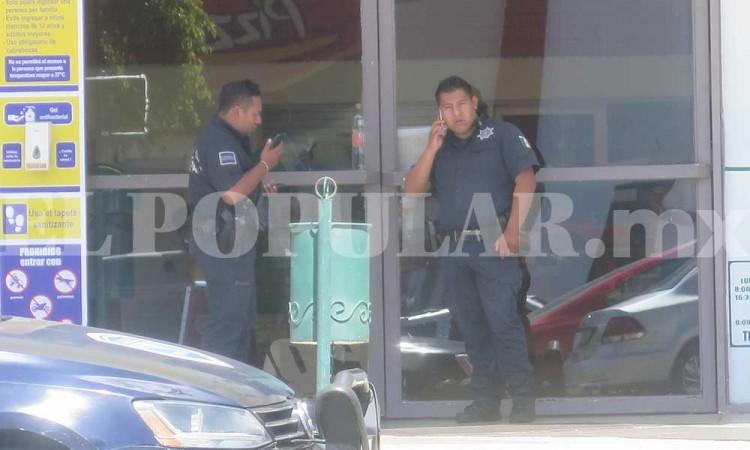 Comando roba tienda Telcel en Plaza Loreto a balazos