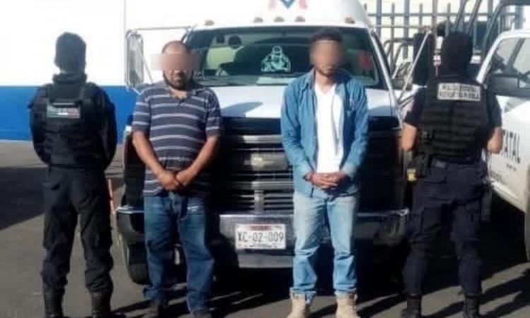 """Detienen a """"Los Merino"""", banda dedicada al robo de gas LP"""