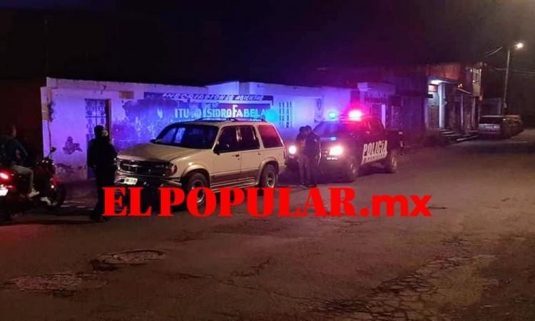 Hombre muere impactado por camioneta en la colonia Luis Donaldo Colosio, al sur de la capital poblana