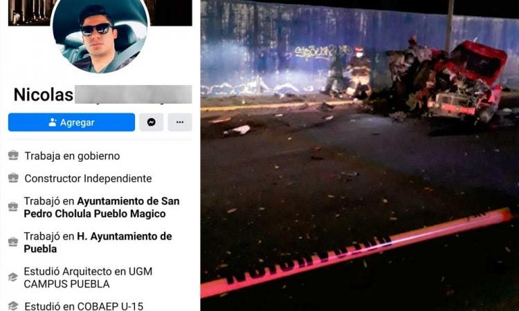 Era subdirector de Coronango el conductor que chocó Mustang y mató a tres mujeres