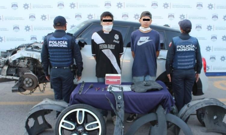 Capturan a objetivo prioritario en Xicotepec de Juárez