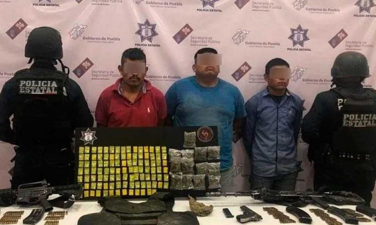 """Cae El Chicharras, presunto integrante de """"Las Bestias"""" en Tlacotepec"""