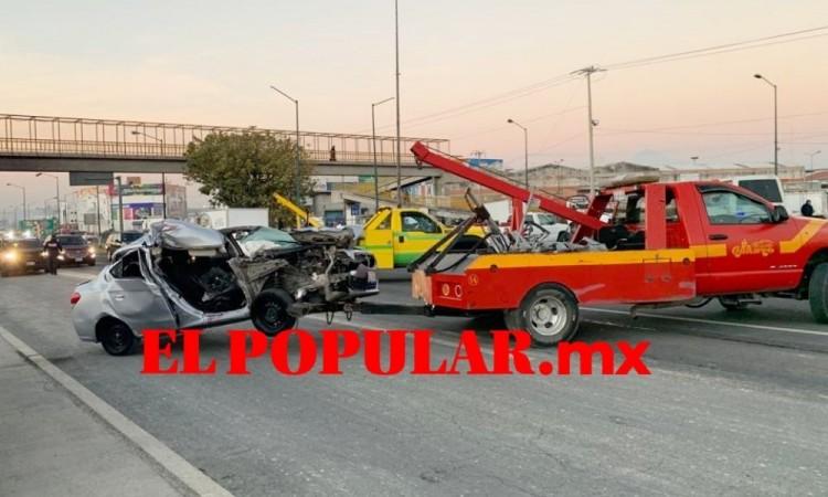 Conductor ebrio choca y mata a su acompañante en la Vía Corta a Santa Ana