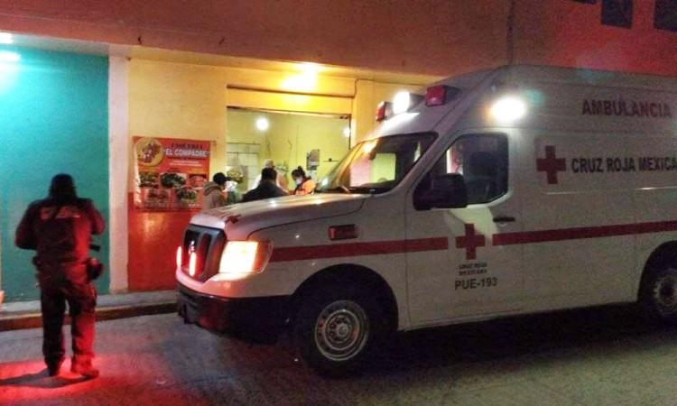 Disparan a una mujer mientras comía tacos en Huejotzingo