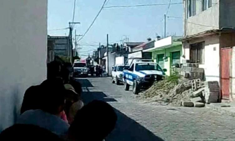Explota pipa de gas en casa de Tlaxco; hay seis heridos