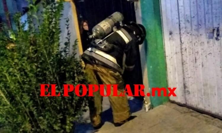 Robo de tubería provoca fuga de gas natural en la colonia Tepeyac
