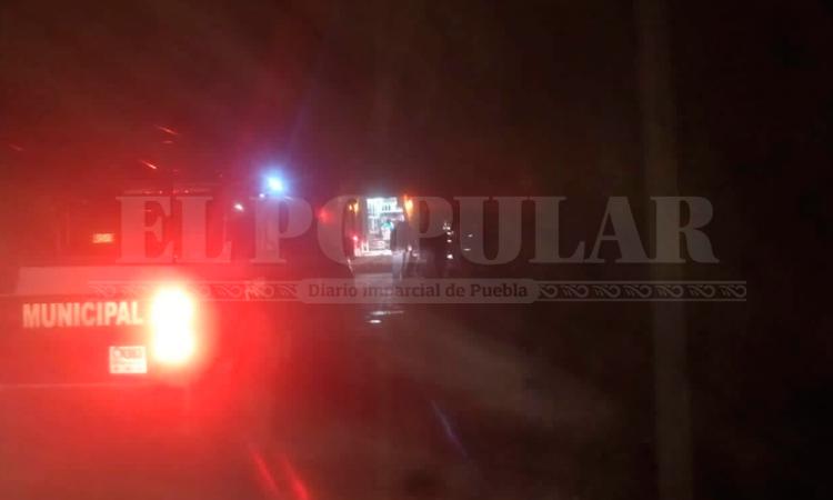 Reportan accidente de vehículo en San Miguel Tenango