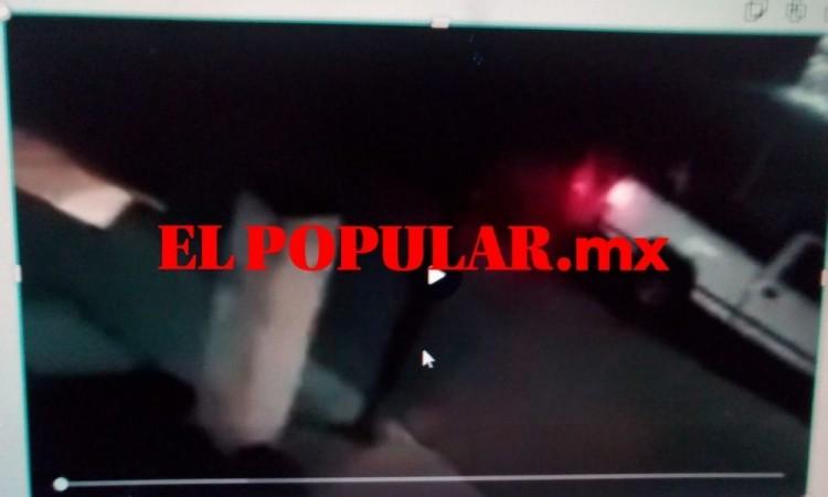 Sujetos armados realizan disparos en el residencial Bugambilias en el municipio de Amozoc