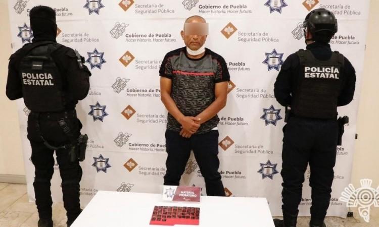 """Capturan a """"El Cava"""", presunto líder de venta de droga"""