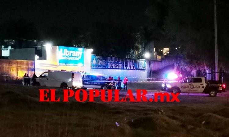 Localizan cadáver con disparo en la cabeza en San Francisco Totimehuacan