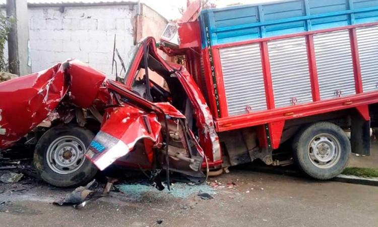Siete pasajeros mueren en fatal accidente a Xiutetelco