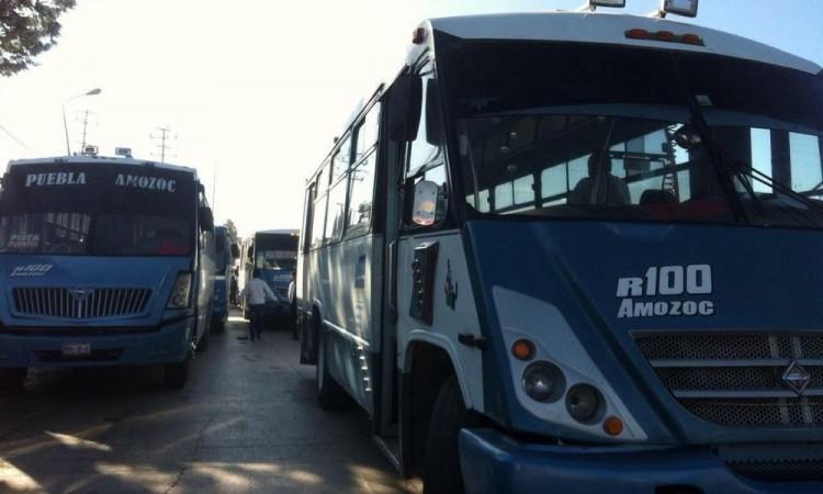 Asaltan ruta 100 sobre la autopista México-Puebla
