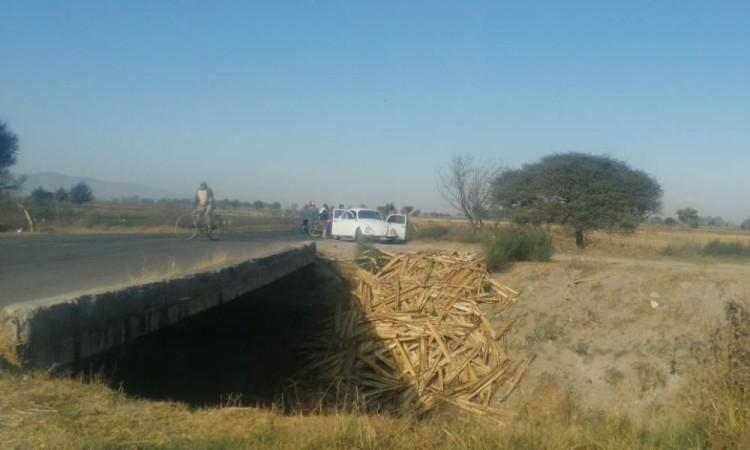 El cuerpo estaba cerca de la entrada de la comunidad de La Soledad.