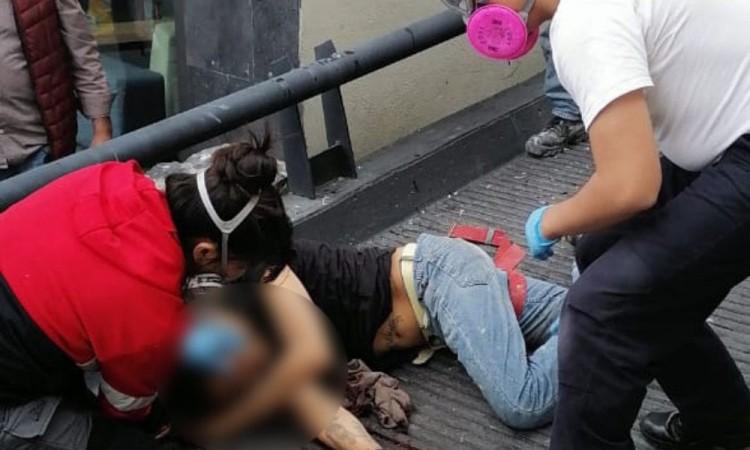 Trabajador muere al sufrir caída en San Andrés Cholula