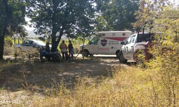 Campesino muere ahogado mientras regaba su parcela en la inspectoría de San Vicente de Paul, en el municipio de Chietla