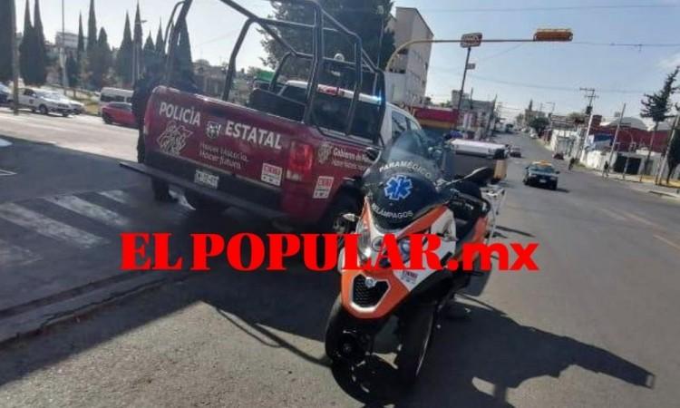 Otro choque de patrulla deja dos lesionados en la colonia Progreso Mayorazgo