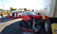 Reportan carambola en autopista Puebla-Orizaba