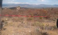 Encuentran restos humanos en cerro de San Baltazar
